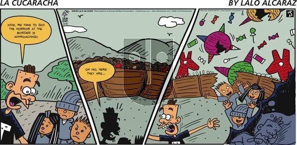 La Cucaracha - Sunday March 8, 2020 Comic Strip