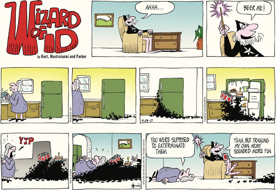 Wizard of Id for Sep 24, 2017 Comic Strip