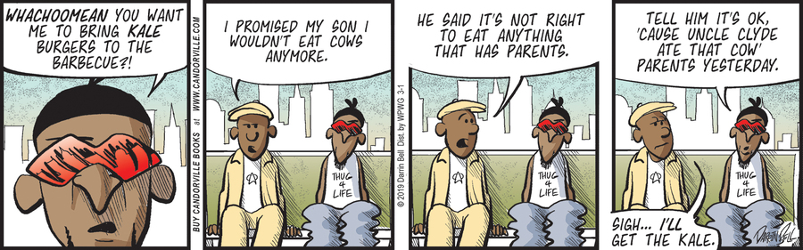 Candorville by Darrin Bell for March 01, 2019
