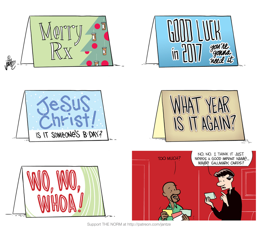 The Norm 4.0 for Dec 19, 2016 Comic Strip