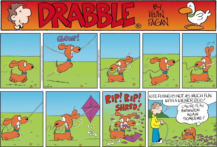 Drabble Comic Strip for March 24, 2019