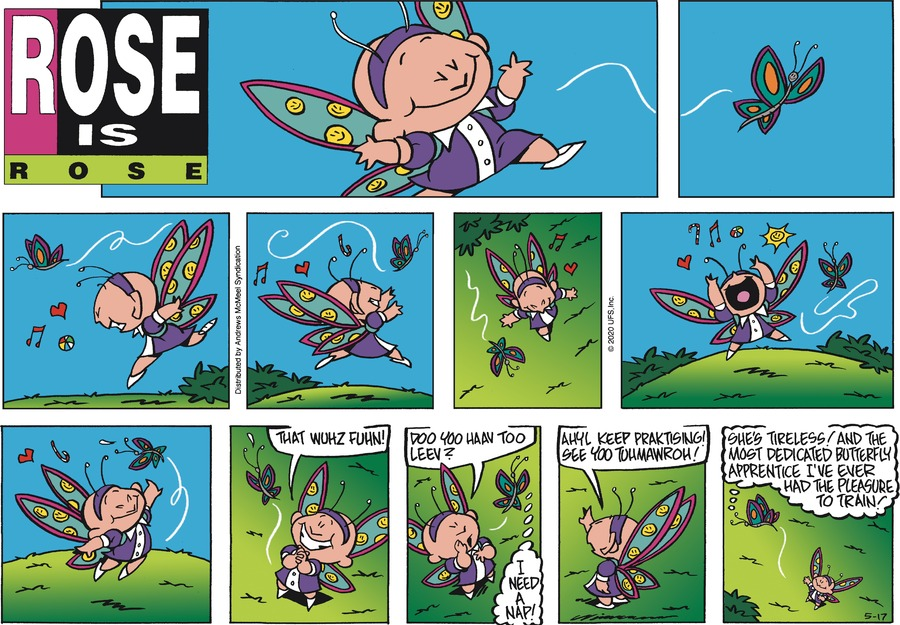 Rose is Rose Comic Strip for May 17, 2020