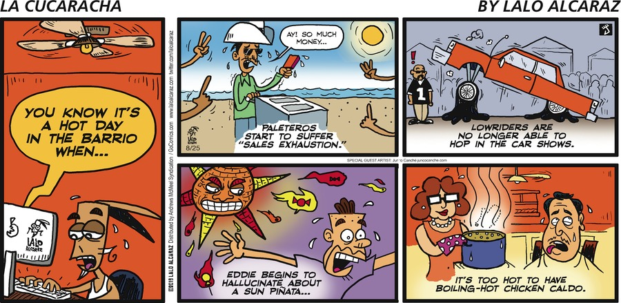 La Cucaracha Comic Strip for August 25, 2019