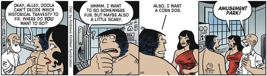 Alley Oop Comic Strip for August 06, 2020