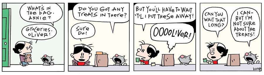 Ten Cats for Dec 12, 2017 Comic Strip