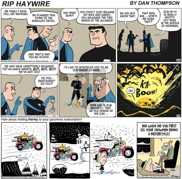 Rip Haywire on Sunday December 6, 2020 Comic Strip