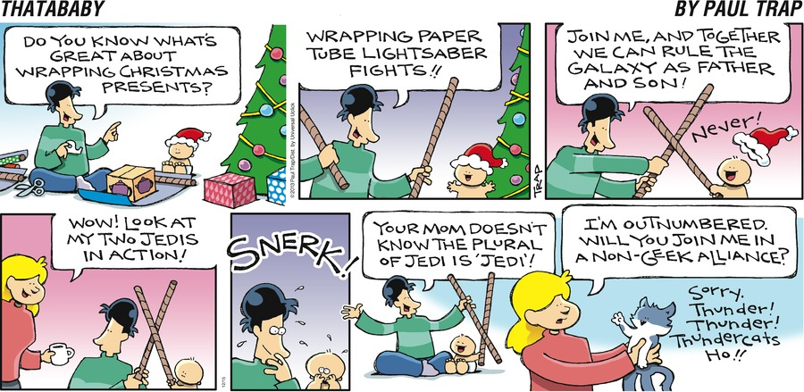 Thatababy for Dec 15, 2013 Comic Strip