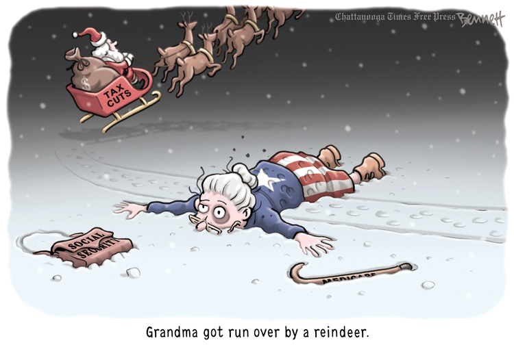 Clay Bennett for Dec 21, 2012 Comic Strip