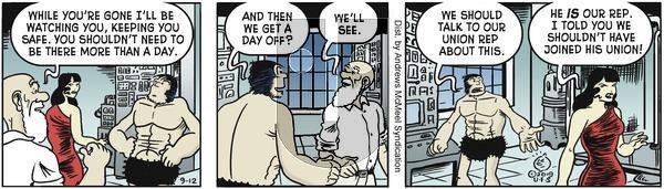 Alley Oop - Thursday September 12, 2019 Comic Strip