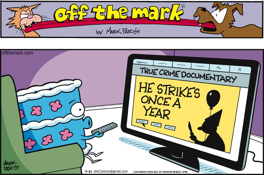 Off the Mark Comic Strip for July 21, 2019