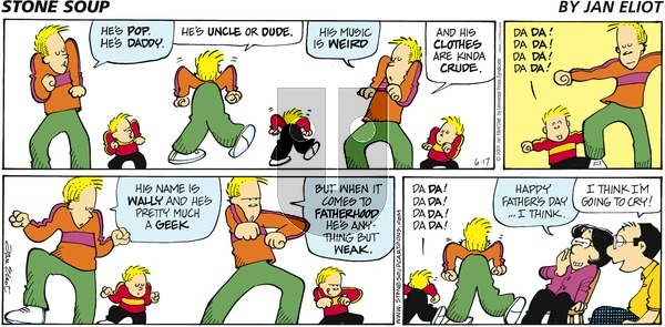Stone Soup on Sunday June 17, 2001 Comic Strip