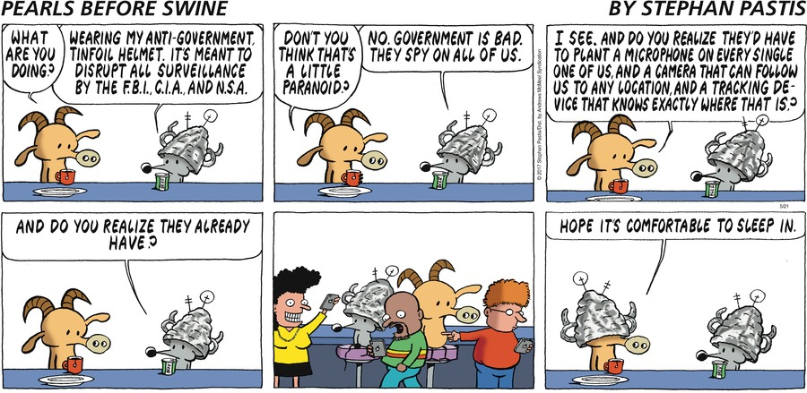 Pearls Before Swine Comic Strip for May 21, 2017