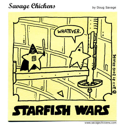 Savage Chickens Comic Strip for June 23, 2015