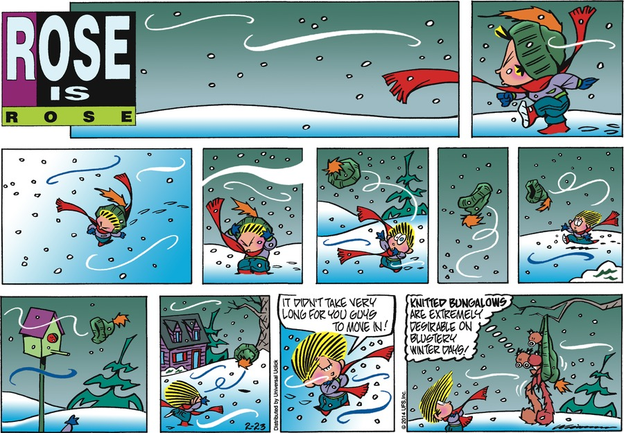 Rose is Rose for Feb 23, 2014 Comic Strip
