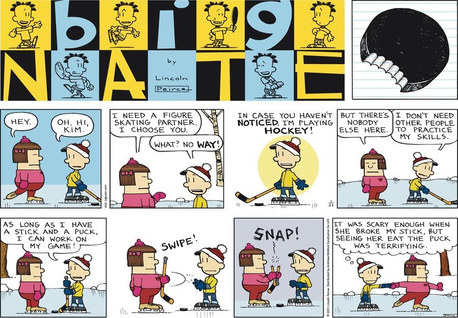 Big Nate Comic Strip for January 31, 2021