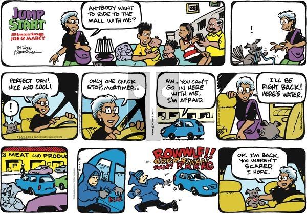 JumpStart - Sunday August 13, 2017 Comic Strip