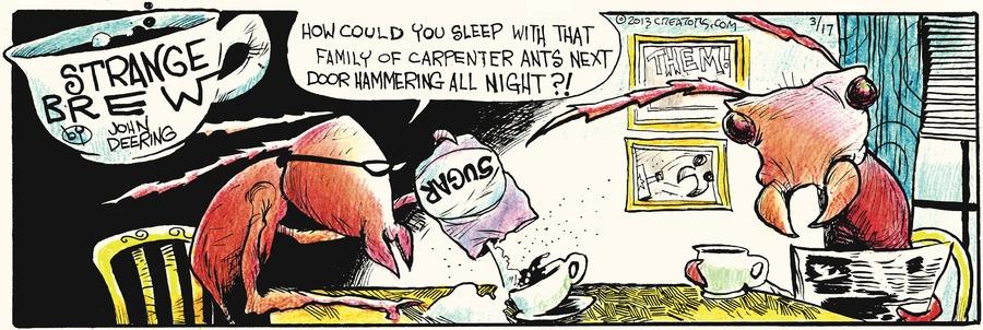 Strange Brew for Mar 17, 2013 Comic Strip