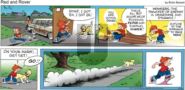 Red and Rover on Sunday May 30, 2021 Comic Strip