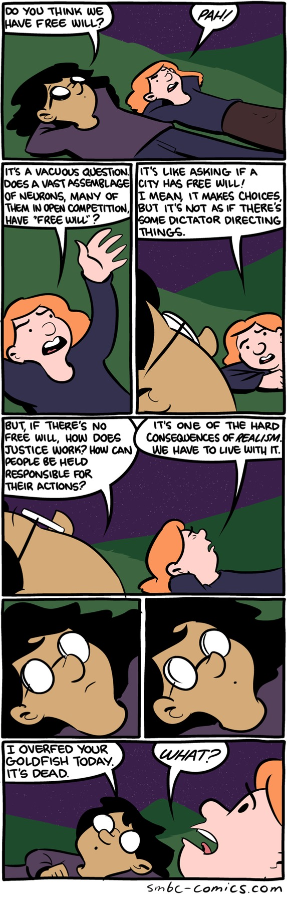 Saturday Morning Breakfast Cereal Comic Strip for August 09, 2015
