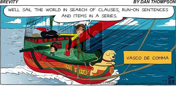 Brevity on Sunday October 12, 2014 Comic Strip