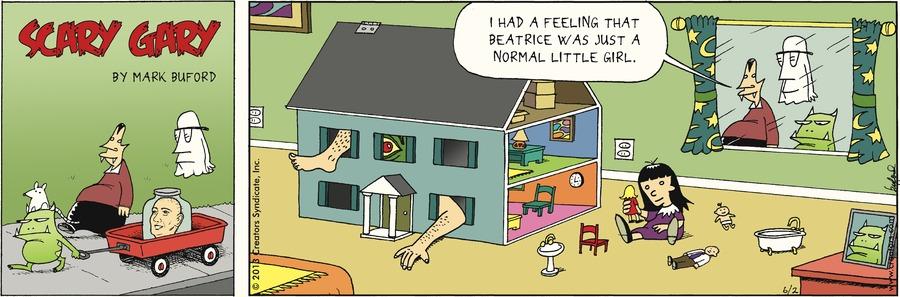 Scary Gary for Jun 2, 2013 Comic Strip