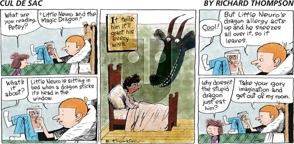 Cul de Sac on Sunday September 9, 2012 Comic Strip