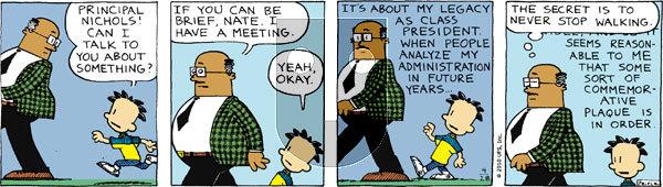 Big Nate on Wednesday April 28, 2010 Comic Strip