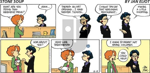 Stone Soup on Sunday December 18, 2011 Comic Strip
