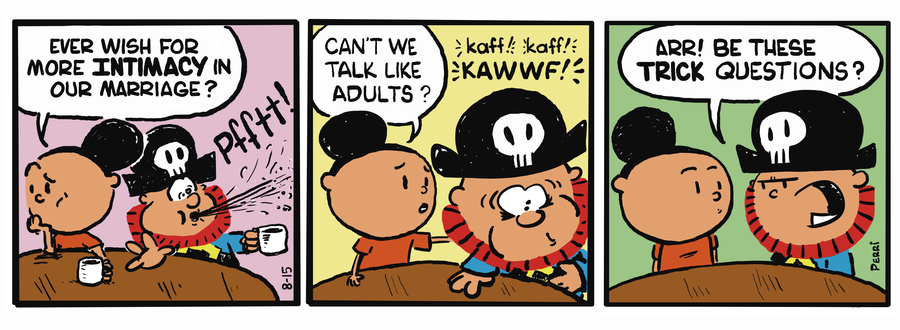 Pirate Mike Comic Strip for May 01, 2019