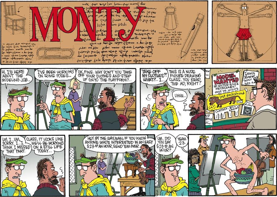 Monty for Mar 3, 2013 Comic Strip