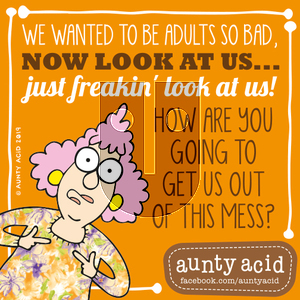 Aunty Acid on Thursday September 26, 2019 Comic Strip