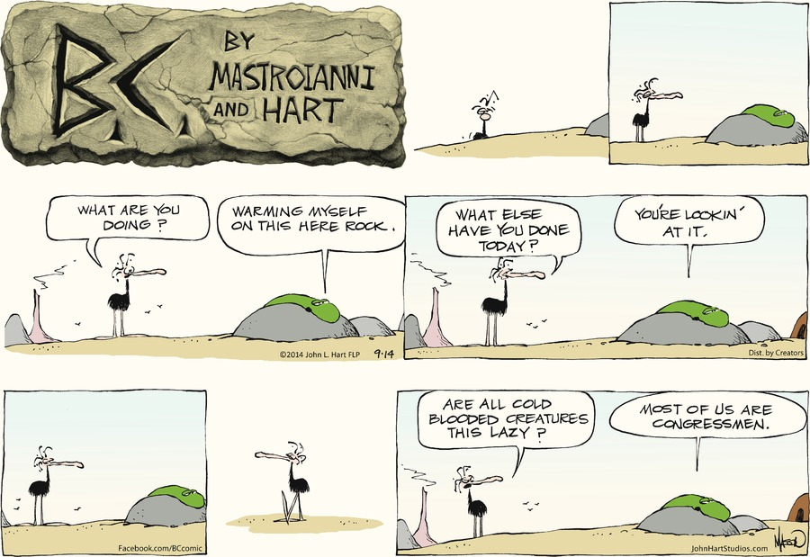B.C. Comic Strip for September 14, 2014