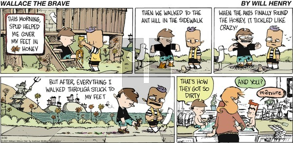 Wallace the Brave on Sunday May 30, 2021 Comic Strip