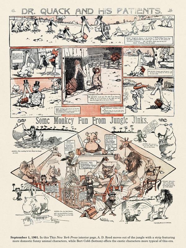 Origins of the Sunday Comics