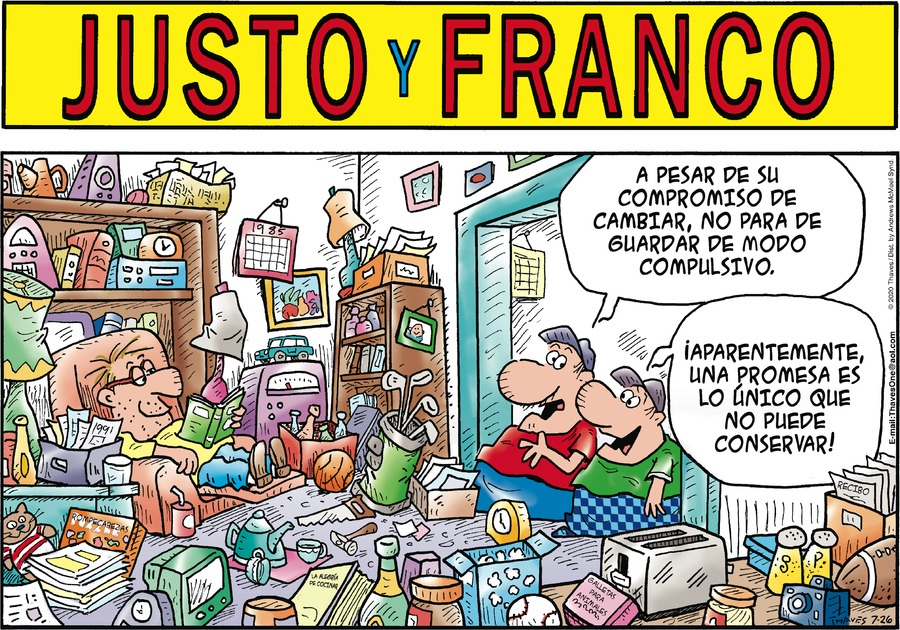 Justo y Franco by Thaves on Sun, 26 Jul 2020