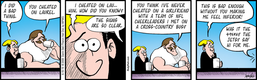 Rudy Park Comic Strip for June 19, 2019