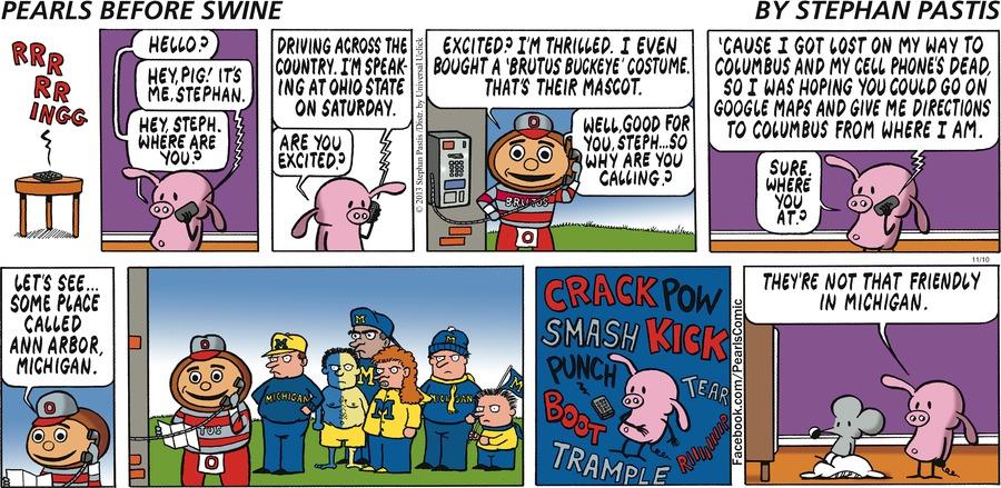 Pearls Before Swine Comic Strip for November 10, 2013