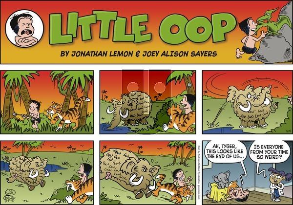 Alley Oop - Sunday December 6, 2020 Comic Strip