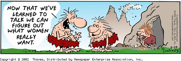 Frank and Ernest Comic Strip for August 24, 2002