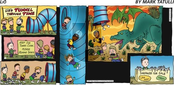 Lio on Sunday September 9, 2007 Comic Strip