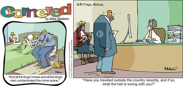 Cornered on Sunday May 2, 2021 Comic Strip