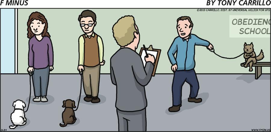 F Minus for Mar 31, 2013 Comic Strip
