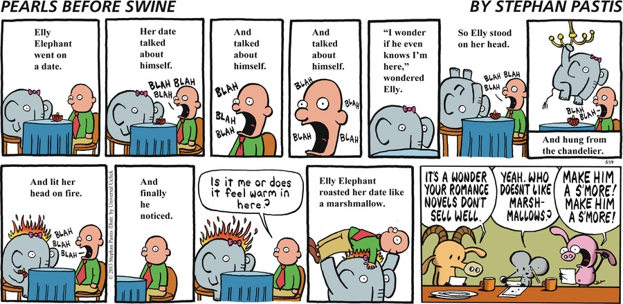Pearls Before Swine for May 19, 2013 Comic Strip
