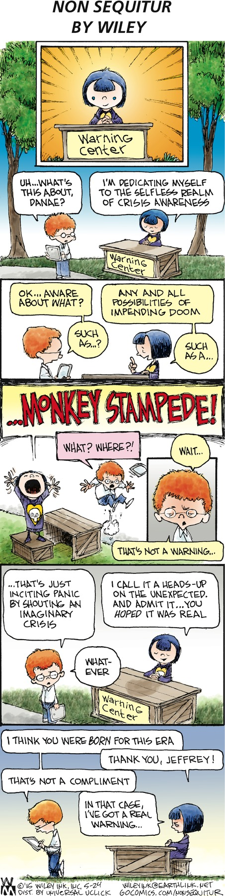 Non Sequitur Comic Strip for May 24, 2015