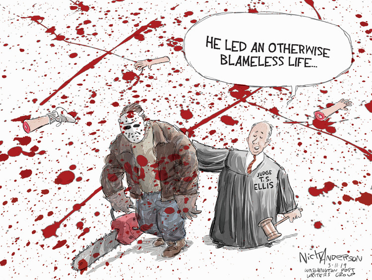 Nick Anderson by Nick Anderson for March 11, 2019