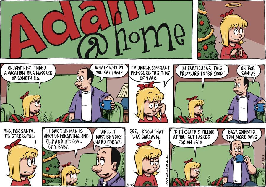 Adam@Home for Dec 15, 2013 Comic Strip
