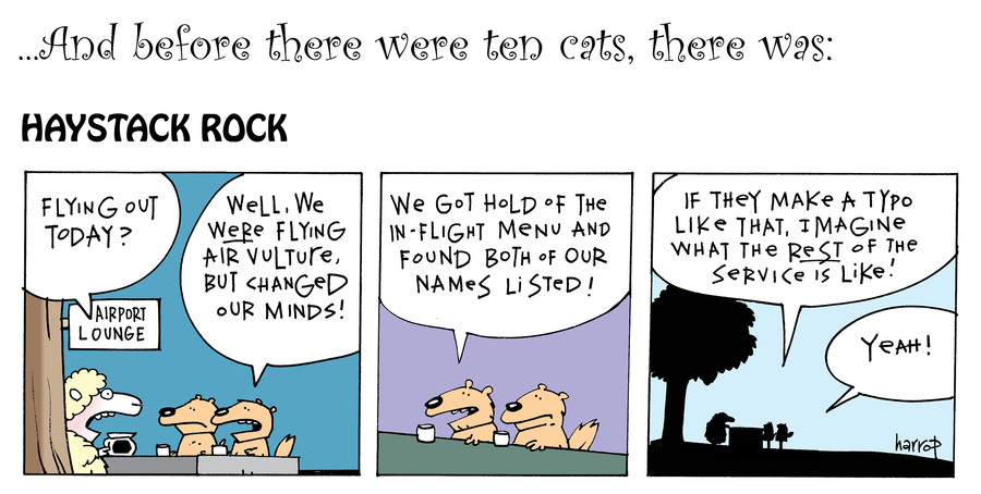 Ten Cats Comic Strip for July 13, 2019