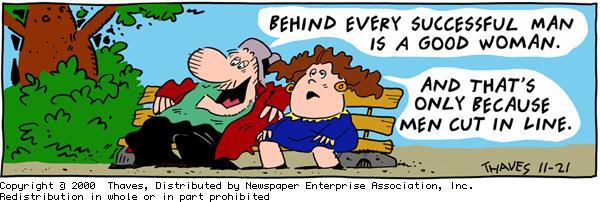 Frank and Ernest for Nov 21, 2000 Comic Strip