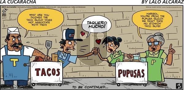 La Cucaracha on Sunday February 17, 2019 Comic Strip