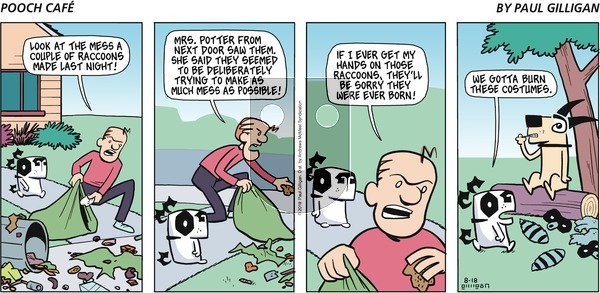 Pooch Cafe on Sunday August 18, 2019 Comic Strip